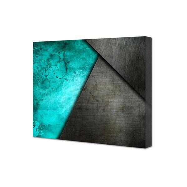 Grunge - abstrakt obraz na płótnie