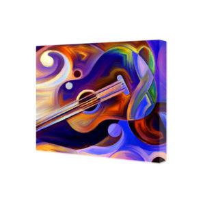 Obraz na płótnie abstrakcyjna gitara