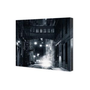 Obraz na płótnie noc na ulicy Nowego Jorku
