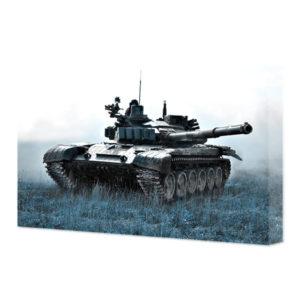 obraz na płótnie czołg na patrolu