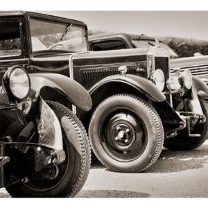 Obraz auta vintage