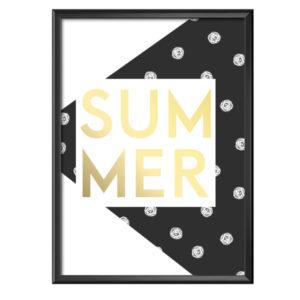Plakat napis Summer