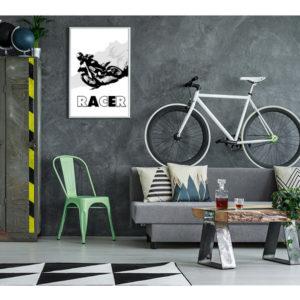 plakat racer wizualizacja
